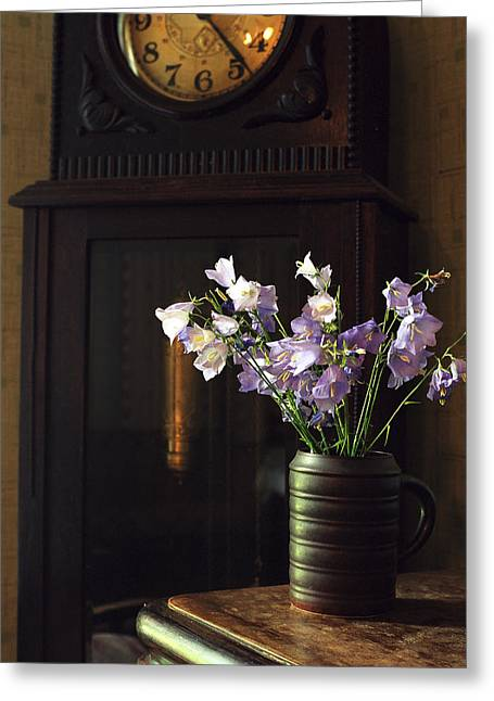 March Greeting Cards - Bellflowers Greeting Card by Evgeny Govorov