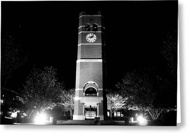 Wcu Greeting Cards - Belltower Greeting Card by India Dorondo
