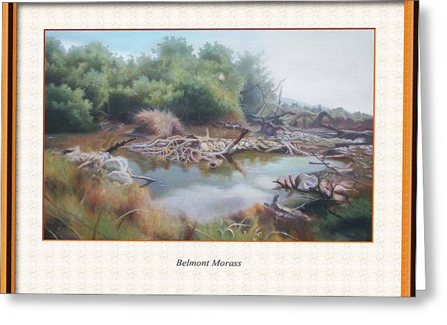 Morass Greeting Cards - Belmont Morass Greeting Card by Jerome Perrin