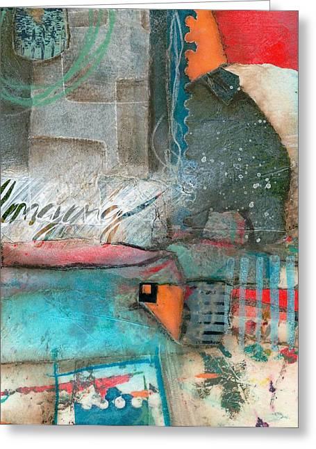 Layer Greeting Cards - Belonging Greeting Card by Laura  Lein-Svencner