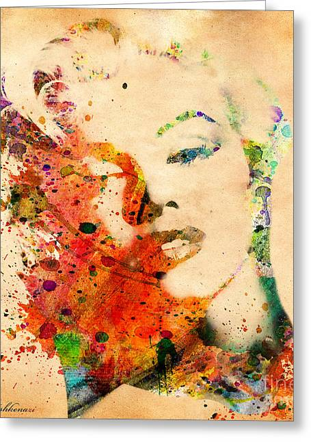 Film Watercolor Greeting Cards - Beloved Greeting Card by Mark Ashkenazi