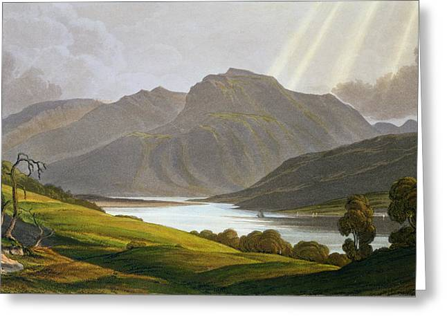 Ben Nevis Greeting Card by George Fennel Robson