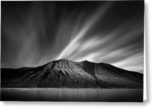 Scotland Landscapes Greeting Cards - Ben Starav Greeting Card by Dave Bowman