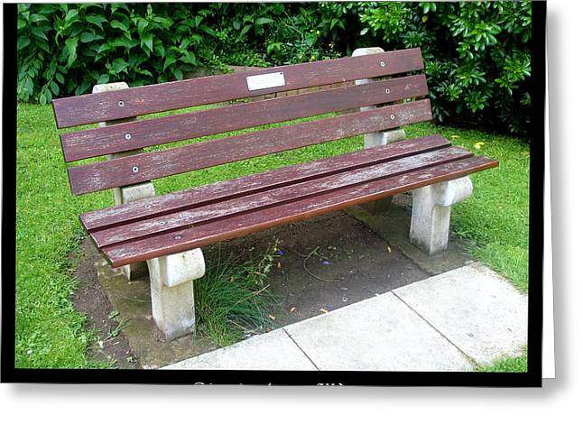 1000benches Greeting Cards - Bench 13 Greeting Card by Roberto Alamino