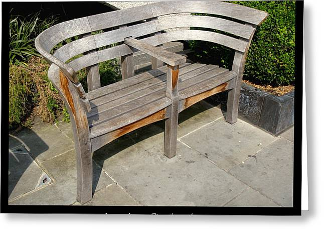 1000benches Greeting Cards - Bench 14 Greeting Card by Roberto Alamino
