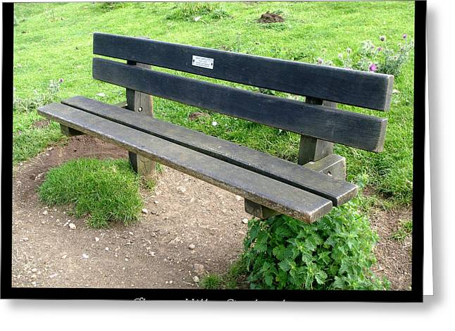 1000benches Greeting Cards - Bench 16 Greeting Card by Roberto Alamino
