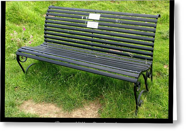 1000benches Greeting Cards - Bench #17 Greeting Card by Roberto Alamino