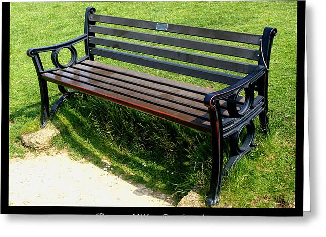 1000benches Greeting Cards - Bench #18 Greeting Card by Roberto Alamino