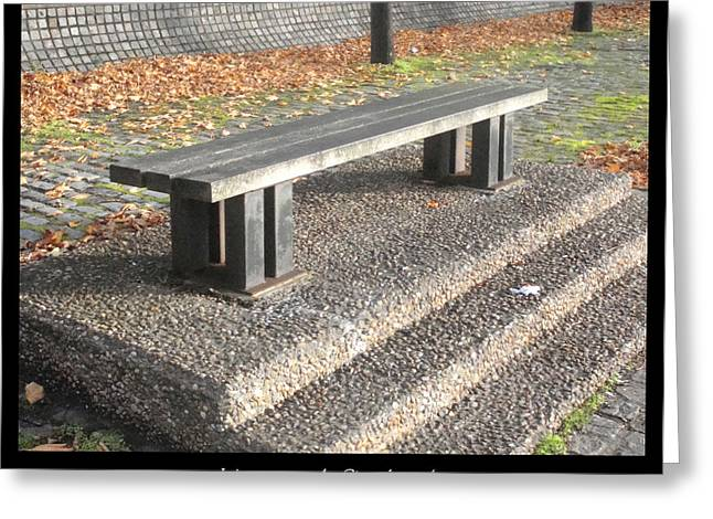 1000benches Greeting Cards - Bench #19 Greeting Card by Roberto Alamino