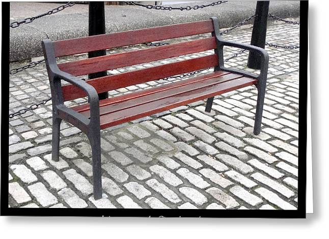 1000benches Greeting Cards - Bench #26 Greeting Card by Roberto Alamino