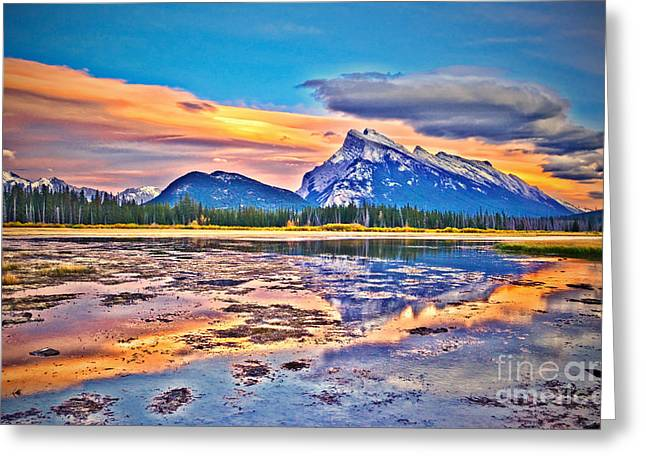 Rundle Greeting Cards - Beneath a Cloak of Clouds Greeting Card by Tara Turner