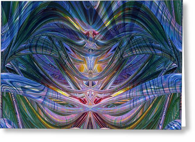 Tion Greeting Cards - Beneath the Flow of Love Fx Greeting Card by G Adam Orosco