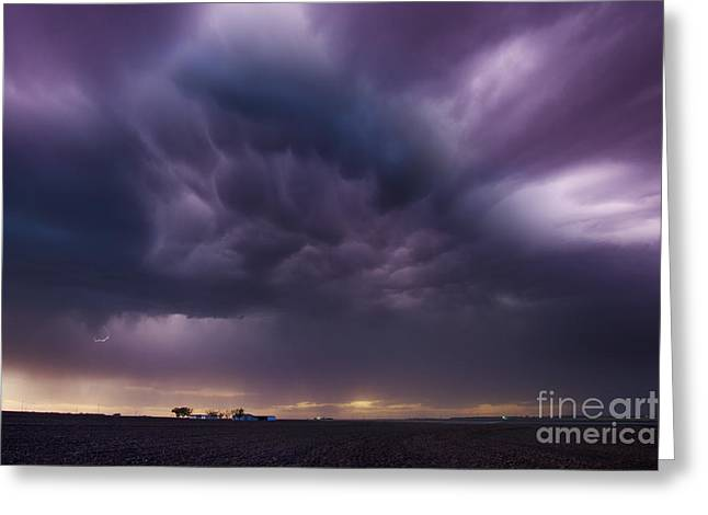 Lightning Photographer Greeting Cards - Beneath The Heavens Greeting Card by Ryan Smith