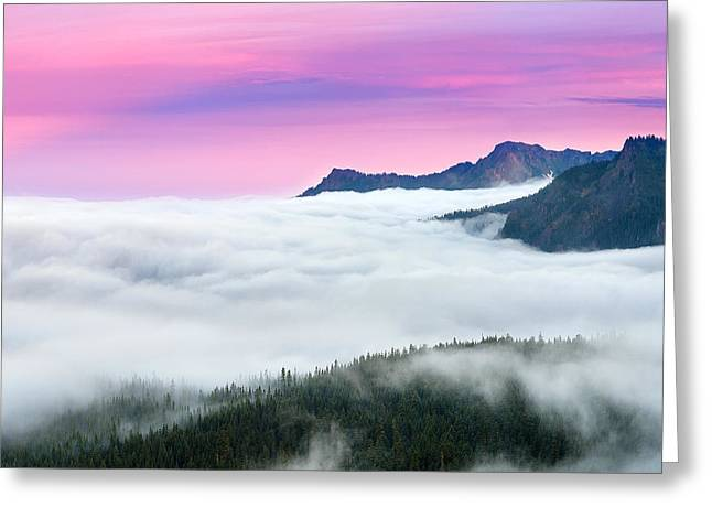 Cloud Inversion Greeting Cards - Beneath the Shadow Greeting Card by Ryan Manuel