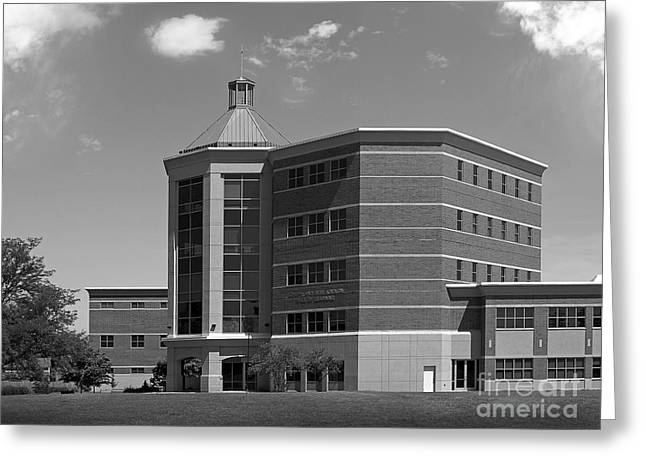 Suburban Office Greeting Cards - Benedictine University Kindlon Hall Greeting Card by University Icons