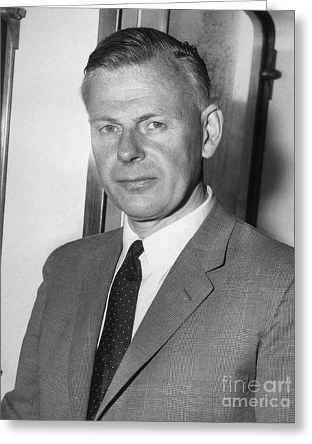 1950s Portraits Greeting Cards - Bengt Stromgren, Danish Astrophysicist Greeting Card by Library Of Congress