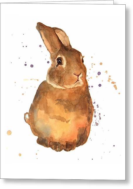 Benjamin Bunny Greeting Card by Alison Fennell