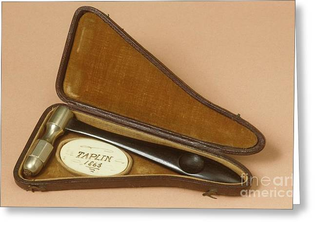 Reflex Greeting Cards - Bennet Percussor, Circa 1860 Greeting Card by Science Photo Library
