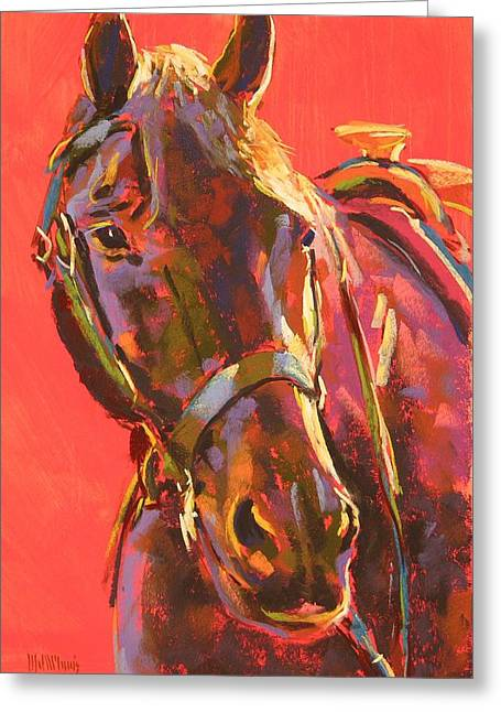 Benny Greeting Card by Mary McInnis