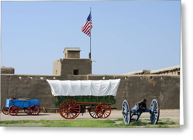 1833 Greeting Cards - Bents Old Fort National Historic Site Greeting Card by Shelley Dennis