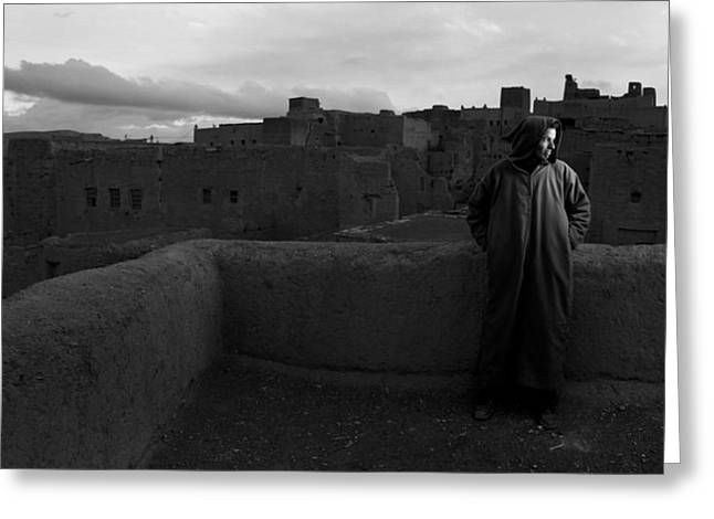 Berber Man Greeting Cards - Berber Portrait Greeting Card by Roberto Falck