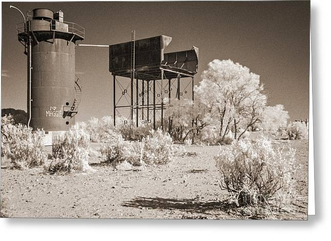Siding Greeting Cards - Beresford Siding Outback Australia Greeting Card by Colin and Linda McKie