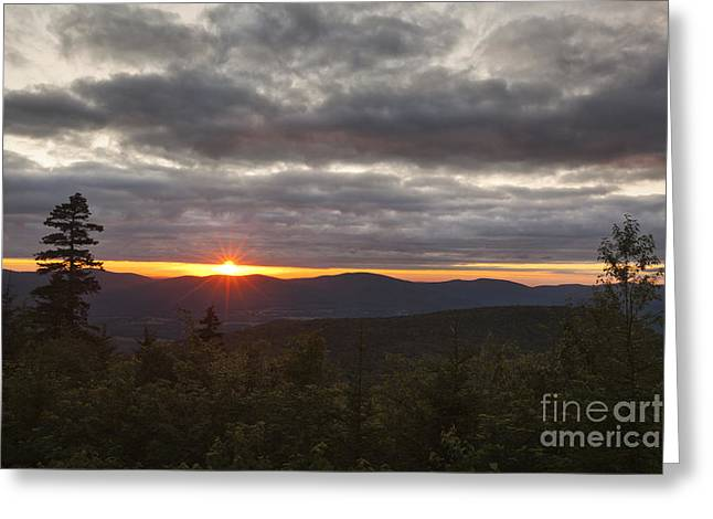 Western Ma Greeting Cards - Berkshire Sunset Greeting Card by Jonathan Welch