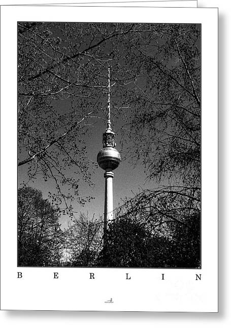 Berlin Germany Pyrography Greeting Cards - Berlin - Spring Greeting Card by ARTSHOT  - Photographic Art