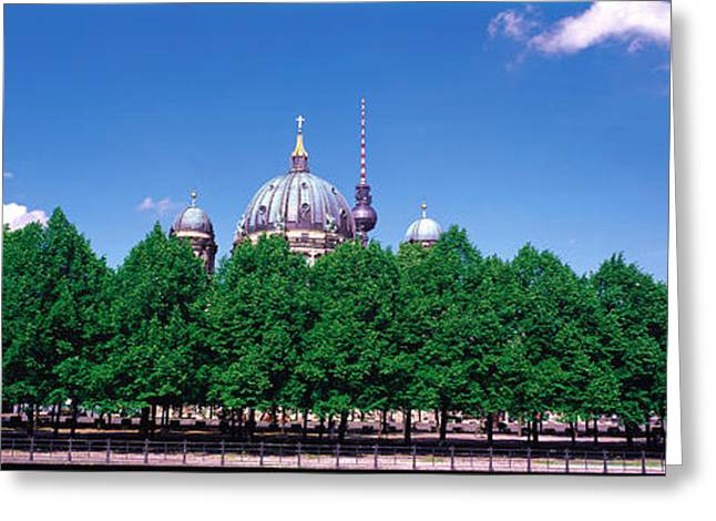 Berlin Germany Greeting Cards - Berlin Germany Greeting Card by Panoramic Images