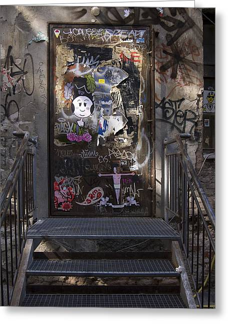 Haus Photographs Greeting Cards - Berlin Graffiti - 2  Greeting Card by RicardMN Photography