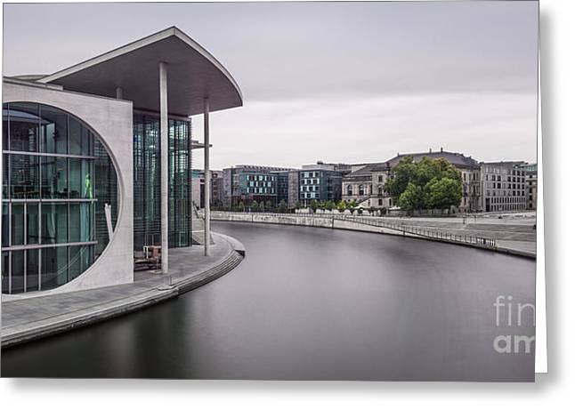 Longtime Exposure Greeting Cards - Berlin - Impression II Greeting Card by Hannes Cmarits