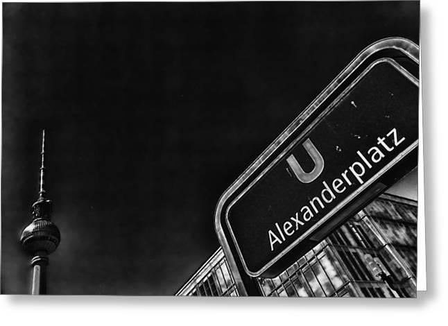 Alexanderplatz Greeting Cards - Berlin Stroll Greeting Card by Mountain Dreams