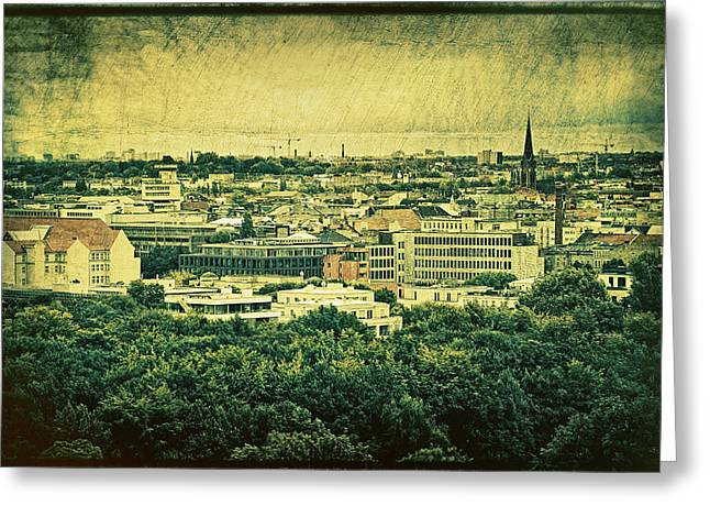 Berlin - Stylized To Old Greeting Card by Gynt