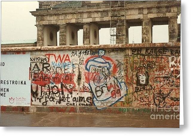 Kevin Croitz Greeting Cards - Berlin Wall Greeting Card by Kevin Croitz