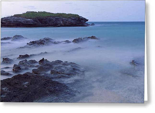 Ocean Images Greeting Cards - Bermuda, Atlantic Ocean Greeting Card by Panoramic Images
