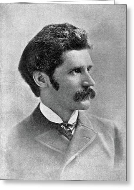 Bernhard Gillam (1856-1896) Greeting Card by Granger