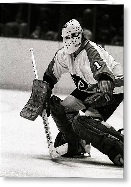 Bernie Parent Greeting Cards - Bernie Parent Greeting Card by Jerry Coli