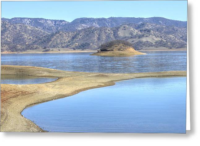 Lake Berryessa Greeting Cards - Berryessa Lake Greeting Card by Agrofilms Photography