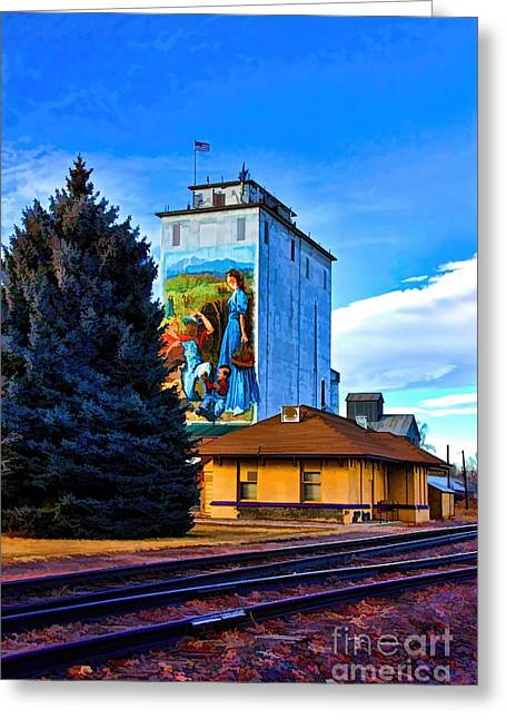 Berthoud Greeting Cards - Berthoud Station Greeting Card by Jon Burch Photography