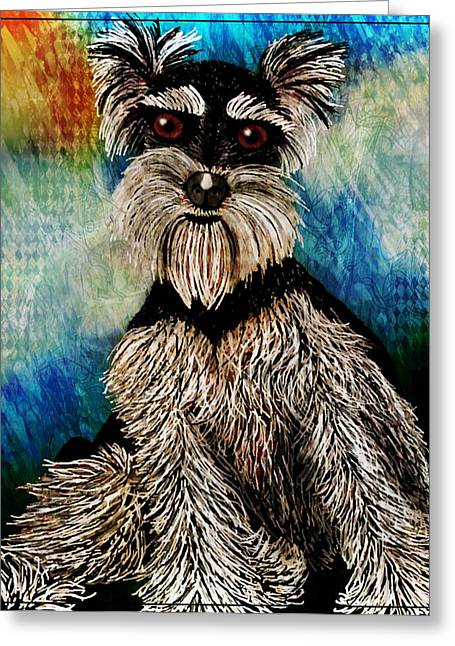 Pets Greeting Cards - Best Friend Greeting Card by Tisha McGee