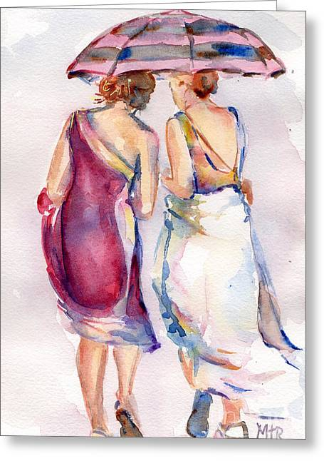 Best Friend Greeting Cards - Best Friends Greeting Card by Maria