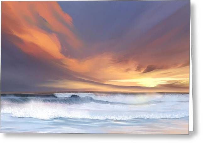 Sunset Greeting Cards Greeting Cards - Best of days Greeting Card by Anthony Fishburne