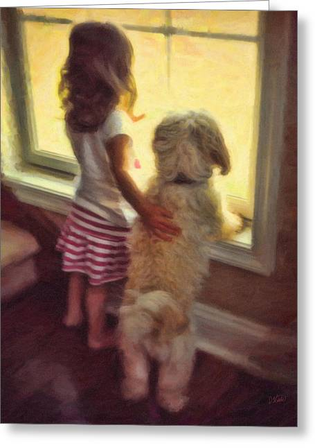 Recently Sold -  - Best Friend Greeting Cards - Best of Friends Greeting Card by Dean Wittle