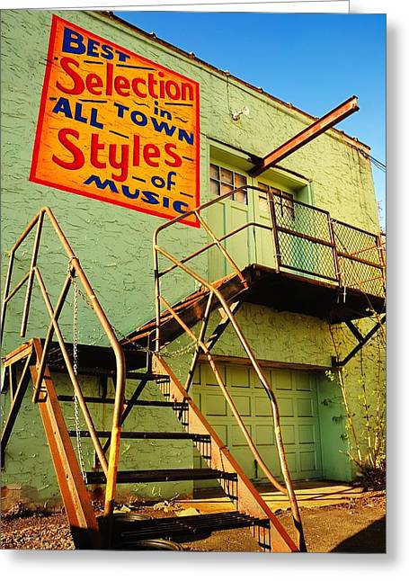 Alleys Greeting Cards - Best Selection In Town Greeting Card by Jim Hughes