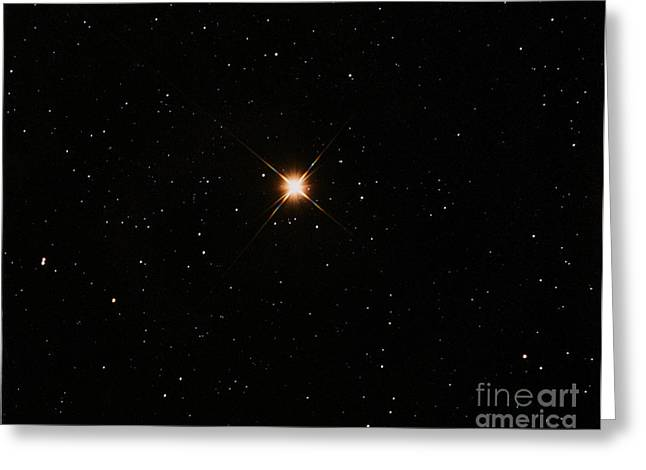 Orionis Greeting Cards - Betelgeuse Greeting Card by John Chumack