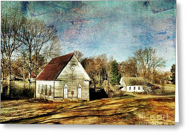 Enid Greeting Cards - Bethany Baptist Church Enid MS Greeting Card by T Lowry Wilson