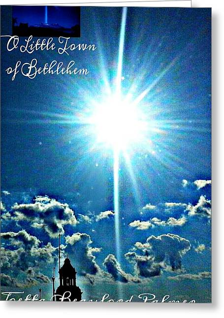 Help Others Greeting Cards - Bethlehem Greeting Card by Joetta Beauford