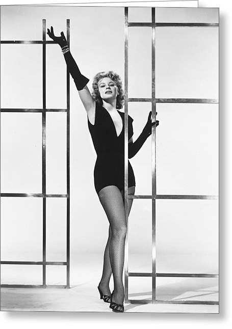 Palmer Greeting Cards - Betsy Palmer Greeting Card by Silver Screen