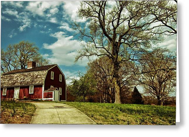 Betsy Greeting Cards - Betsy Williams House Greeting Card by Lourry Legarde
