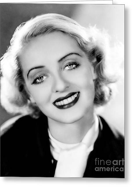 Choreographer Greeting Cards - Bette Davis  Greeting Card by Movie Star News